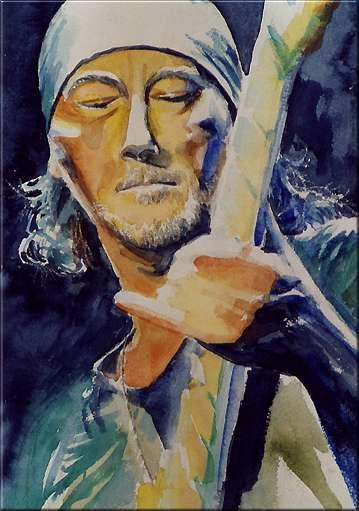 Evi Ivans watercolor DP Paintings
