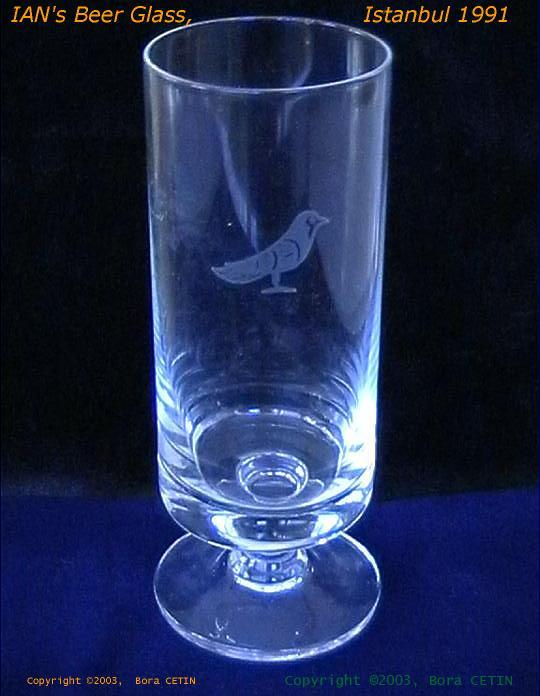 IAN's Beer Glass 1991