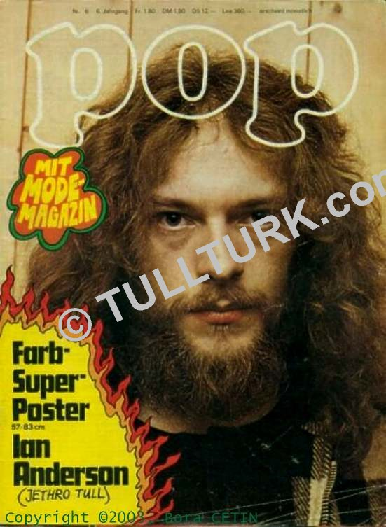 POP Magazin Cover   1971