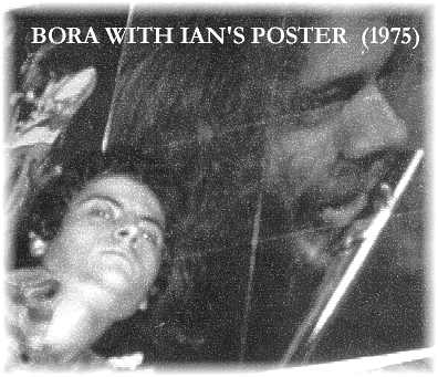 Bora & Ian's Poster, From BORA's Wall, 1975