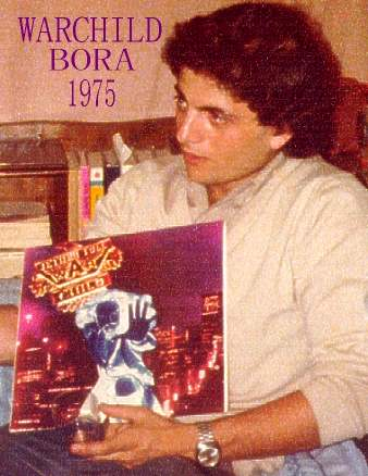Bora with; His NEW War Child LP , 1975