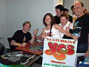 Jon Anderson Istanbul 2005,  After Concert Autograph